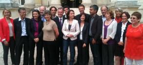 Premier groupe écologiste à l'Assemblée nationale française